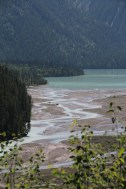 Kinney Lake from the trail to Whitehorn