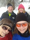 Christmas Day snowshoe