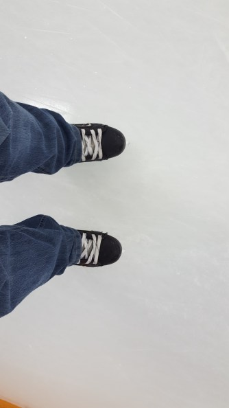 skating - first time in 40 years and I didn't fall