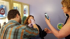 Getting my nose pierced