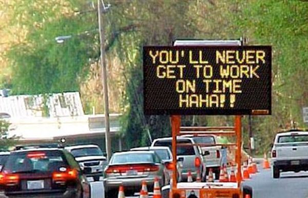 Electric Road Signs Hacked Late Work