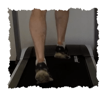 Running Gait - Just Feet