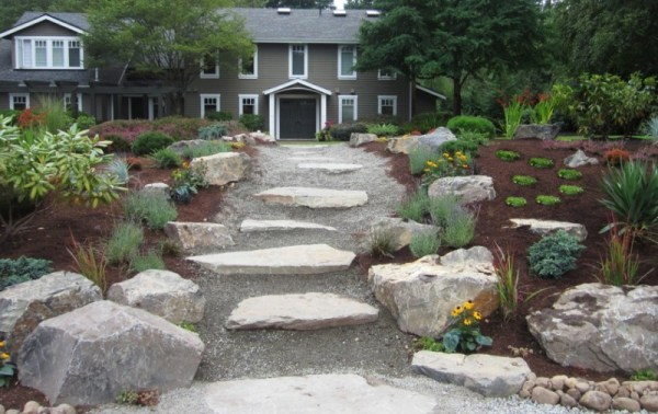 rock garden design landscaping
