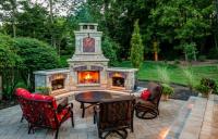 20+ Best Stone Patio Ideas for Your Backyard - runtedrun