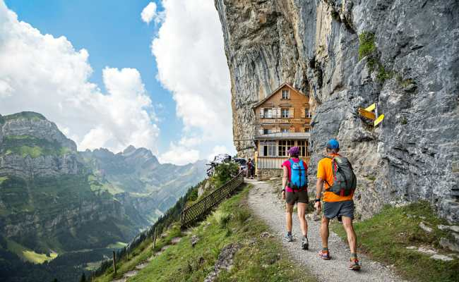 The Alpstein Trail Running In A Vertical World Run The Alps