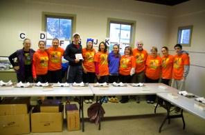 Registration Volunteers before the rush 2014