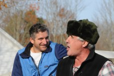 Mike Paletta and John Lawrence at race start