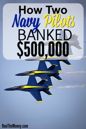 navy pilots saved 500000