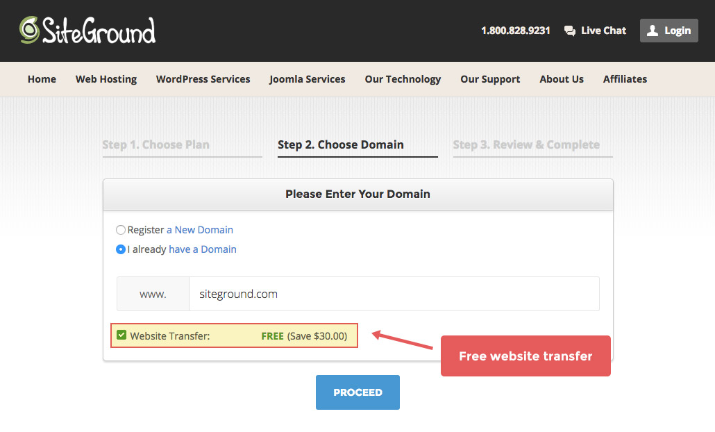 start a blog using wordpress and siteground