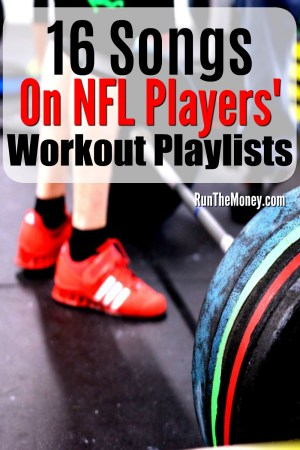 NFL players' workout playlists
