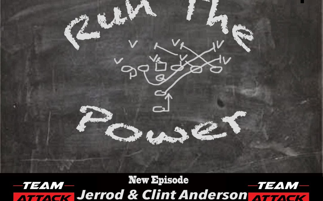 """""""Clint & Jerrod Anderson – Training and Developing Offensive Linemen EP 004"""" Run The Power : A Football Coach's Podcast"""