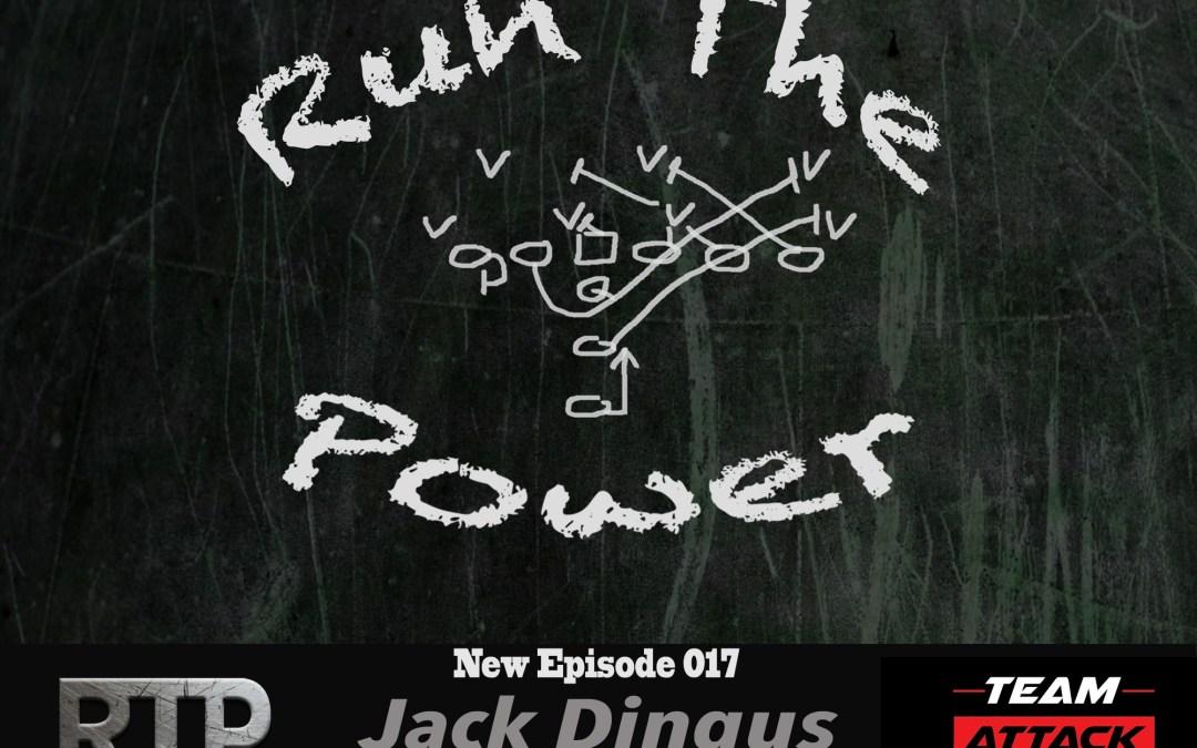 """""""Jack Dingus – Hog Football Clinic and coaching HS Football in Oklahoma EP 017"""" Run The Power : A Football Coach's Podcast"""