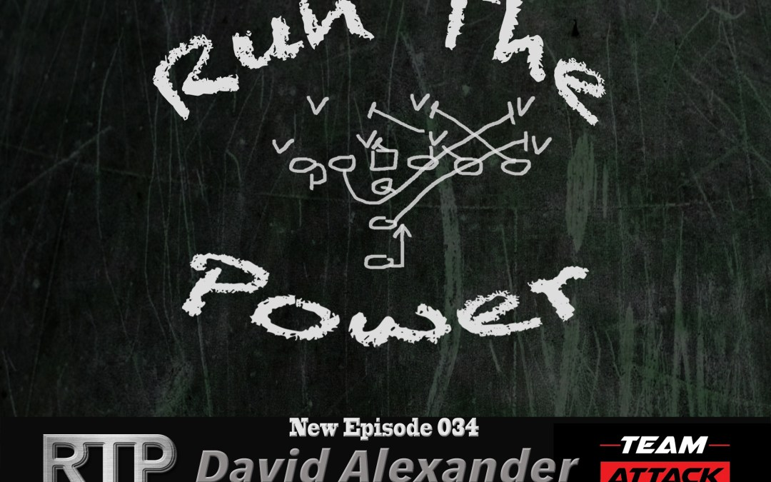 """""""David Alexander – Playing 10 Years in the NFL Against Lawrence Taylor, Reggie White & Mike Golic EP 034"""" Run The Power : A Football Coach's Podcast"""
