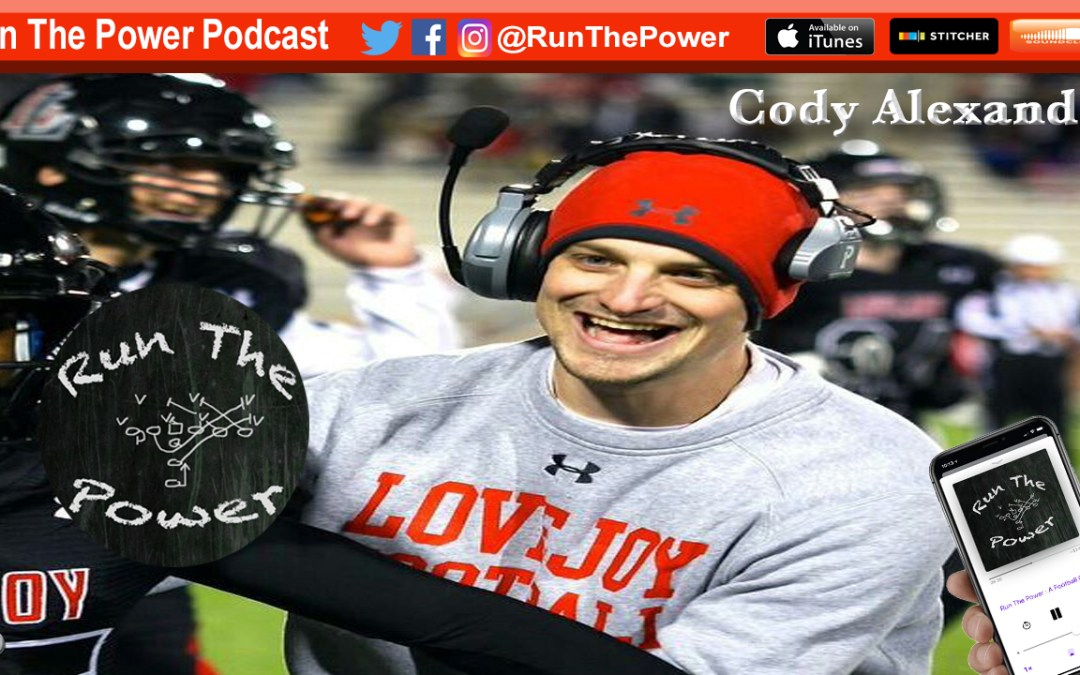 """Cody Alexander – Coaching Defensive Backs EP 050"" Run The Power : A Football Coach's Podcast"