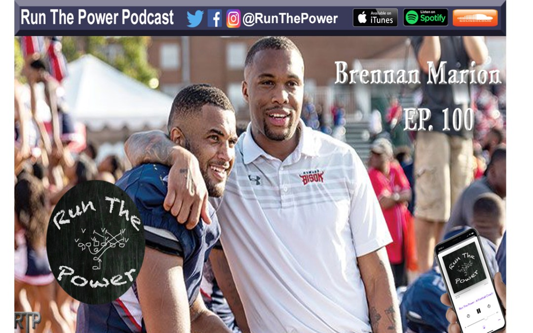 """Brennan Marion – Throwing the Ball Deep as OC at William & Marry Ep. 100"" Run The Power : A Football Coach's Podcast"