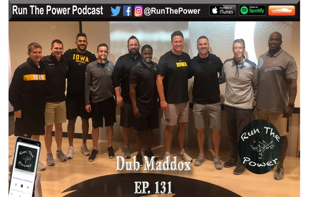 """""""Dub Maddox – What is Open Ep. 131"""" Run The Power : A Football Coach's Podcast"""