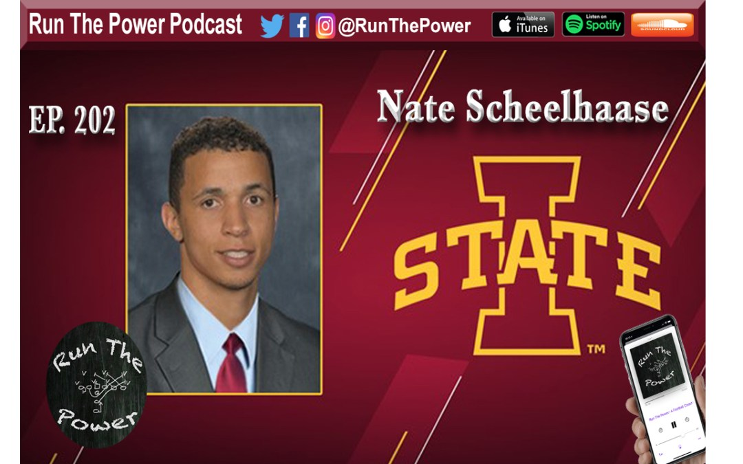 """Nate Scheelhaase – Red Zone Pass Game Ep. 202"" Run The Power : A Football Coach's Podcast"