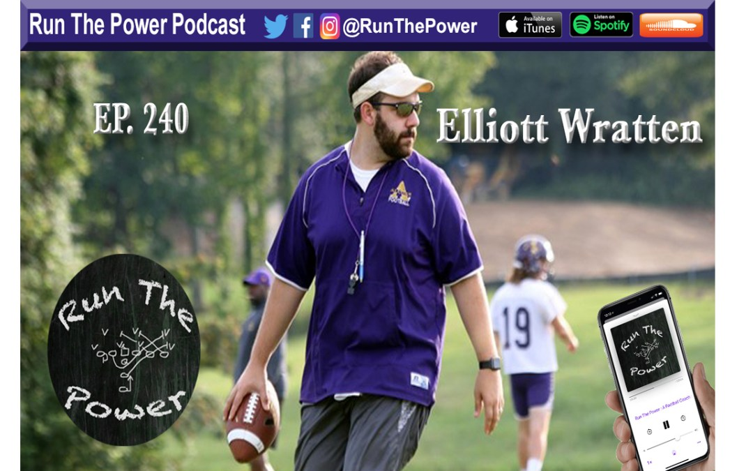 """""""Elliott Wratten – RPO Choice Concepts at Alcorn State Ep. 240"""" Run The Power : A Football Coach's Podcast"""