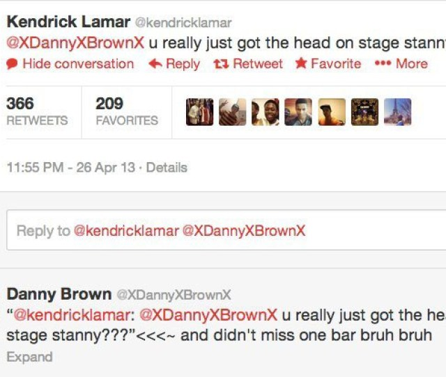 Danny Brown Gets Blowjob On Stage Video