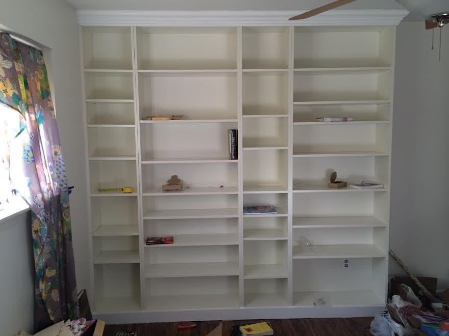 Billy Bookcase Makeover