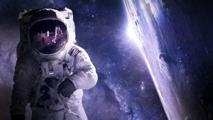 astronaut, universe, space travel