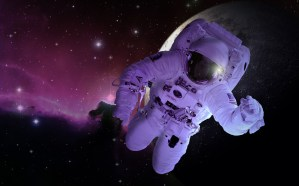 moon, astronaut, astronomy
