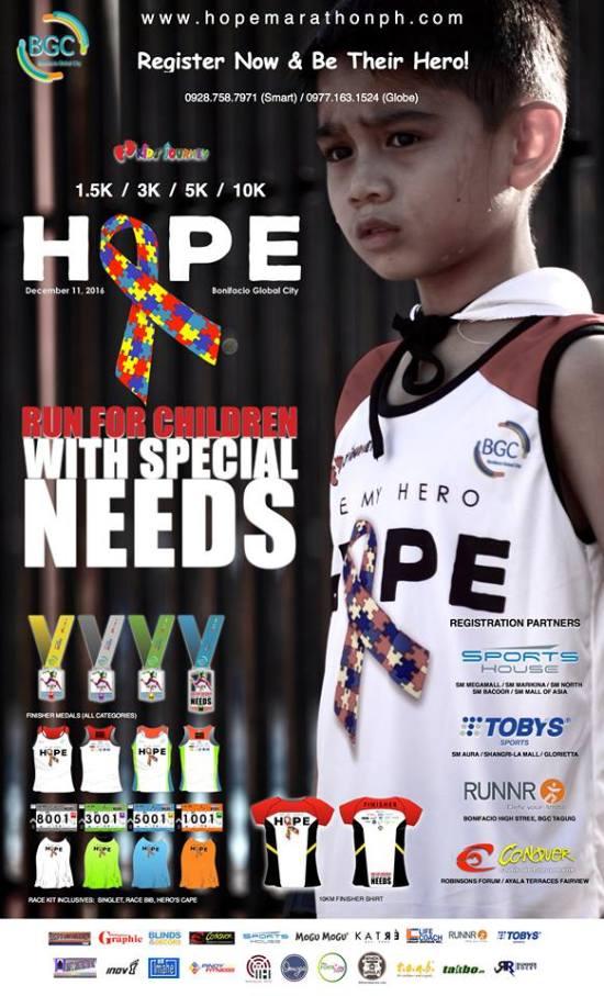 Hope Run 2016 Race Details