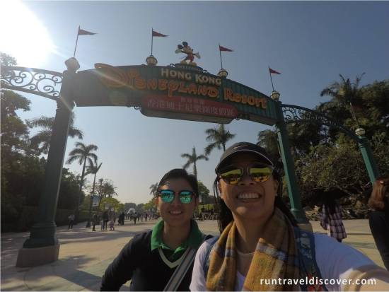 We have arrived, Hong Kong Disneyland!