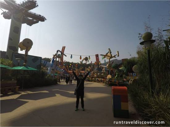 Hong Kong Disneyland - Andy's Backyard