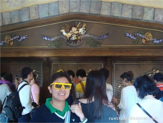 Hong Kong Disneyland - PhilharMagic Doors