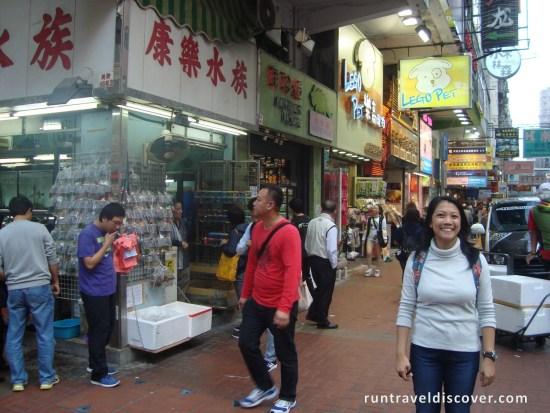 Hong Kong City Tour - Goldfish Market