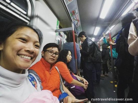 Hong Kong City Tour - MTR Commute