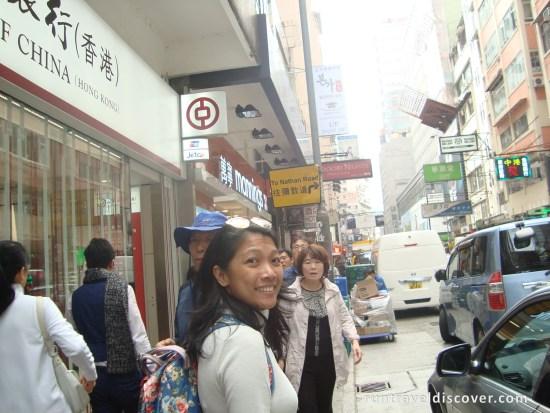 Hong Kong City Tour - To Nathan Road