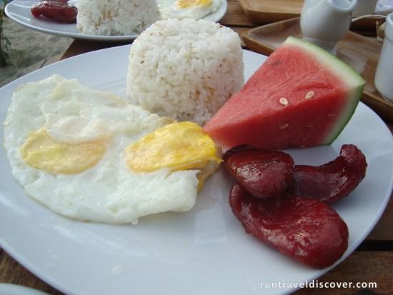 Puerto Galera - Filipino Breakfast