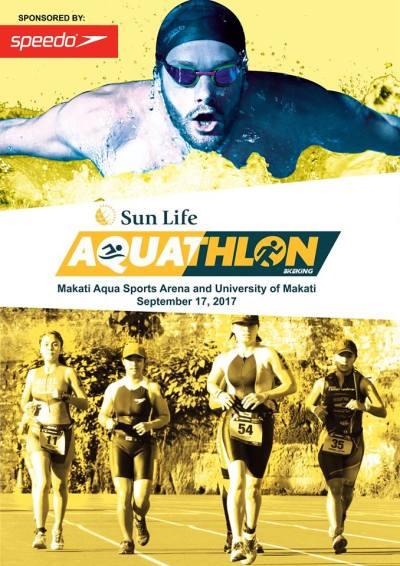 2017 Sun Life Aquathlon - Event Poster