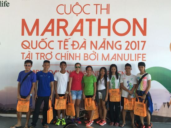 Da Nang International Marathon 2017 - Team Philippines