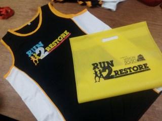 Run2Restore Race Kit Giveaway - Race Kit