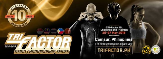 Upcoming Event: TRI-Factor Asian Championship Series in PH