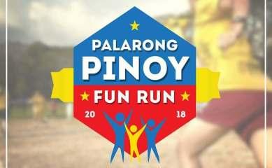 Palarong Pinoy Fun Run 2018 - Logo