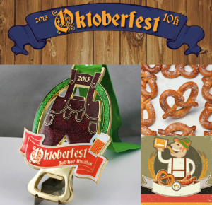 Oktoberfest Medals by Jost Running The Virtual Racing Company