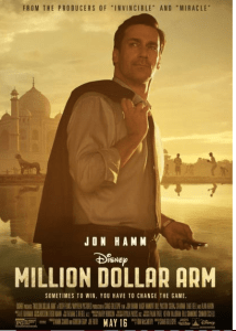 Jon Hamm..Disney…I am in Heaven.. Million Dollar Arm