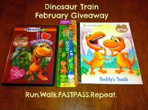 Dinosaur Train GIVEAWAY….Its National Children's Dental Month!