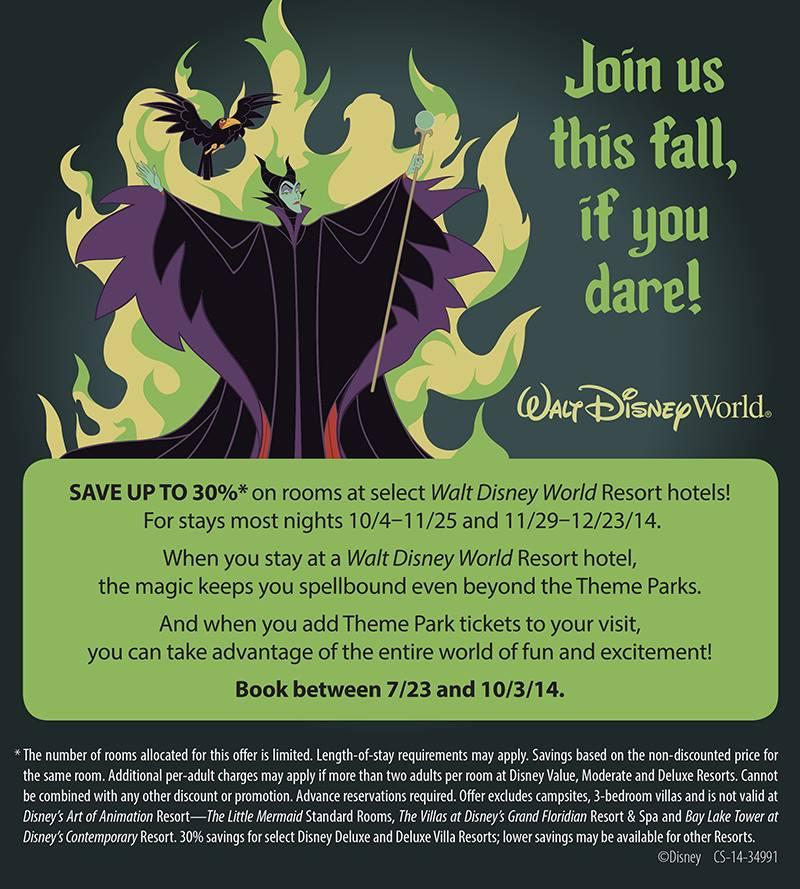 FAll Deals Disney World