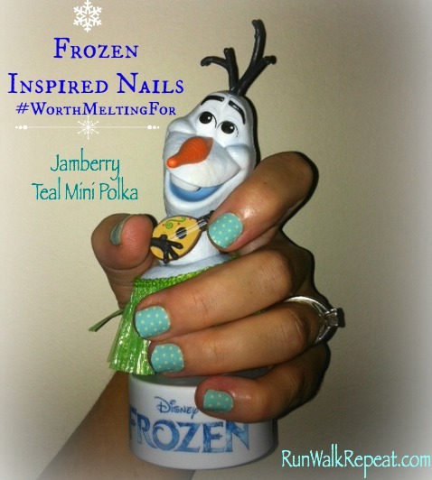 Frozen Nails Jamberry Olaf
