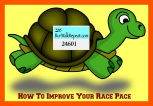 Speed Up Your Pace and Improve Race Time