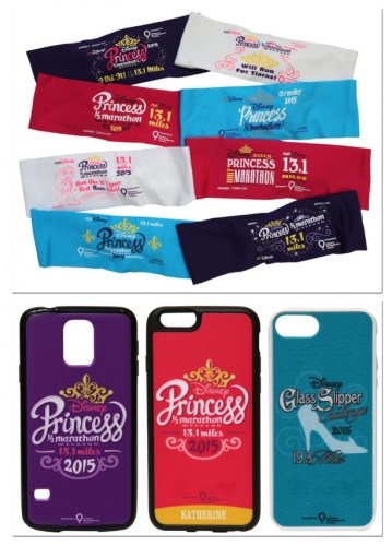 Princess Half Merchandise Headbands and Phone Covers