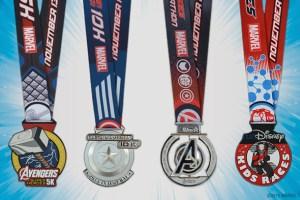 2015 Avengers Half Marathon Medals Revealed