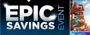 UNIVERSAL ORLANDO RESORT EPIC SAVINGS EVENT through 4/4/16