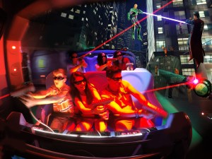 JUSTICE LEAGUE Battle for Metropolis 4D Ride Coming to Six Flags Over Georgia in 2017