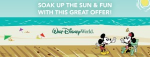 Disney Discounted Vacation for Spring 2016, Fun & Sun Offer Save up to 25%